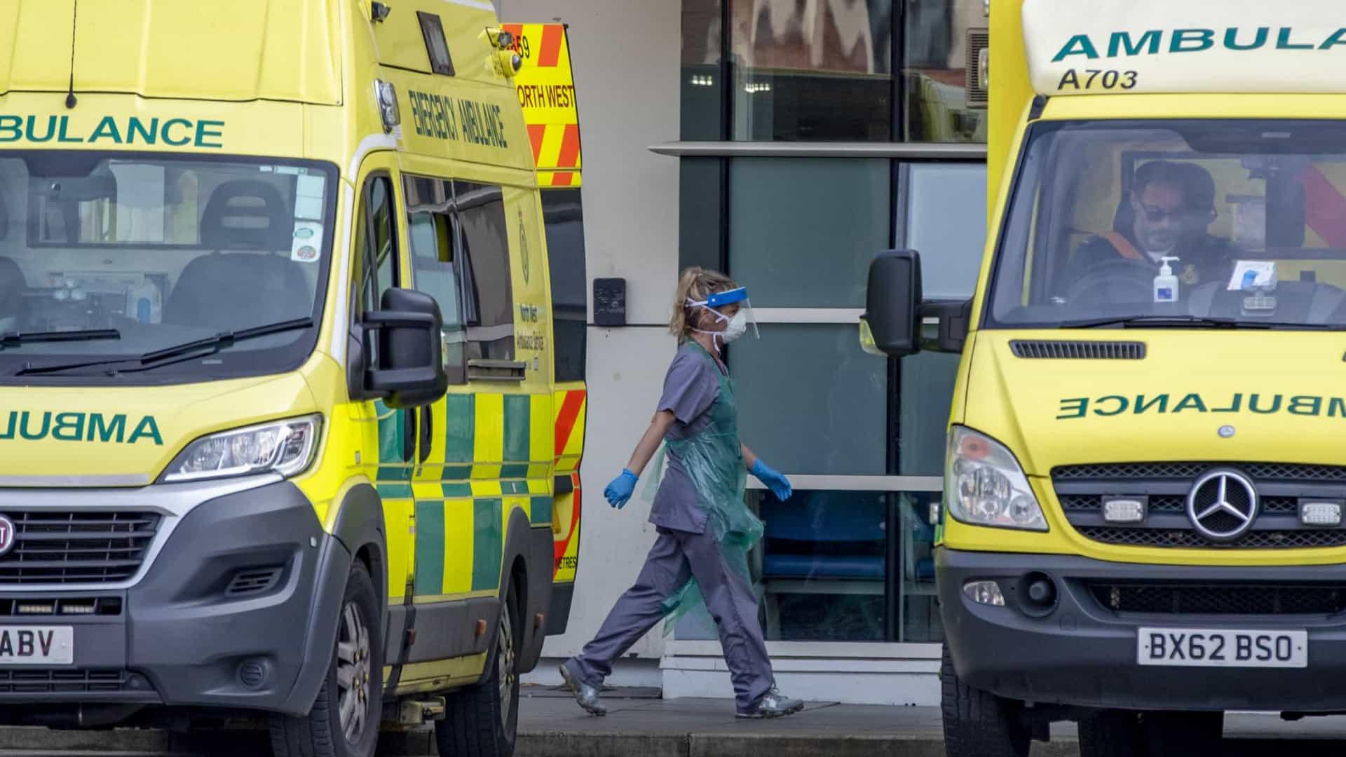 Criança de cinco anos é a vítima mais nova da Covid-19 no Reino Unido